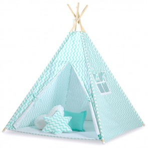 Tipi Speeltent Chevron Mint