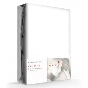 Emotion Hoeslaken Katoen Strijkvrij Wit-90 x 200 cm