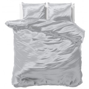 Sleeptime Beauty Skin Care Dekbedovertrek Silver