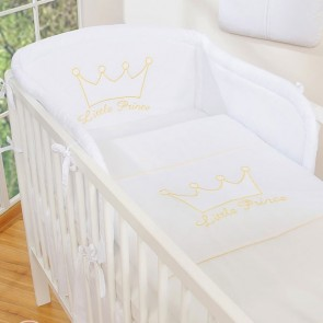 My Sweet Baby Hoofdbeschermer Little Prince/Princess Wit