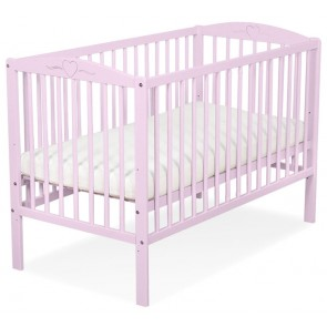Baby Ledikant Roze Hartje