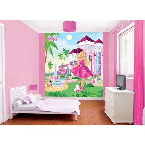 Barbie Fotobehang (Walltastic)