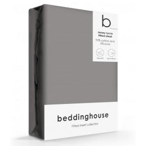 Beddinghouse Jersey-Lycra Hoeslaken Warm Grijs