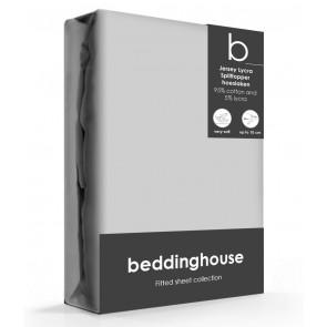 Beddinghouse Splittopper Hoeslaken Jersey Lichtgrijs