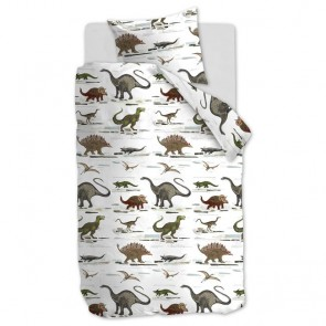 Beddinghouse Kids Dekbedhoes Jurassic Green
