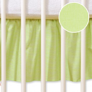 My Sweet Baby Bedrok Groen Stripes 60x120cm
