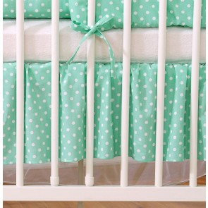 My Sweet Baby Bedrok Mint/Dots 60x120cm