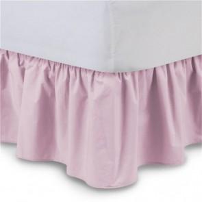 Dolly Bedrok Geplooid Roze 70x140 cm