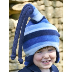 Buggy Snuggle Kindermuts Blue Stripe Loopy M