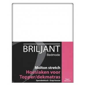 Molton Topper Stretch Hoeslaken