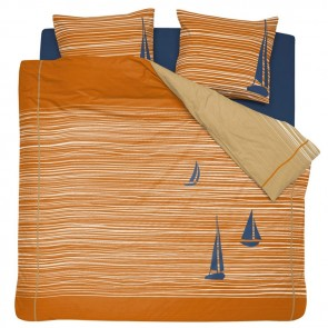 Cinderella Dekbedovertrek Boats Burned Orange