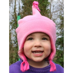 Buggy Snuggle Kindermuts Fleece Roze M