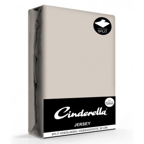 Cinderella Jersey Splithoeslaken Taupe