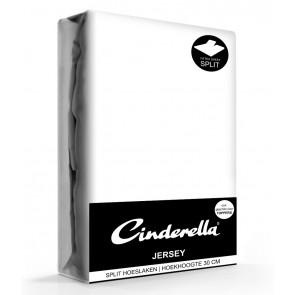 Cinderella Jersey Splithoeslaken White