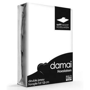 Damai Multiform Double Jersey Splittopper Wit