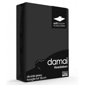 Damai Multiform Double Jersey Splittopper Zwart