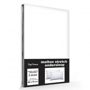 Molton Stretch Kussenslopen (2 stuks)
