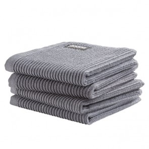 DDDDD vaatdoek Basic Neutral Grey (4 stuks)