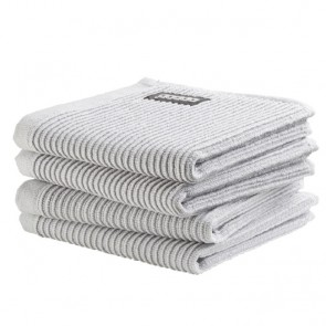 DDDDD vaatdoek Basic Neutral Light Grey (4 stuks)