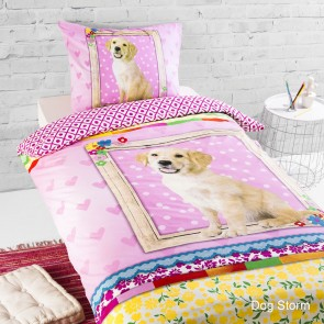 Day Dream dekbedset Golden Retriever 'Storm'