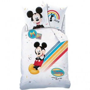 Disney Mickey Mouse Dekbedhoes Colourful