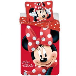 Minnie Mouse Dekbedovertrek Red Dots