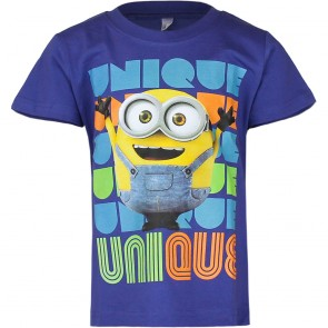 Despicable Me T-Shirt Donkderblauw
