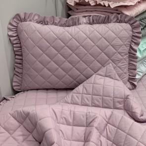 Dolly Gewatteerd Kussen Lavendel 37x48cm
