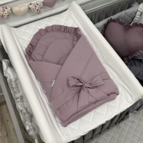 Dolly Wikkeldeken Ruches Lavendel