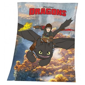 Dragons Fleece Deken 130/160cm