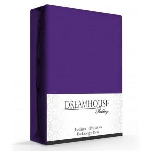 Dreamhouse Hoeslaken Katoen Paars