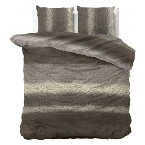 Dreamhouse Dekbedovertrek Gradient Knits Taupe