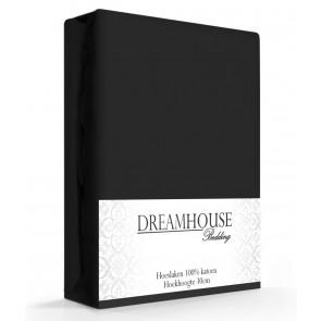 Dreamhouse Hoeslaken Katoen Zwart