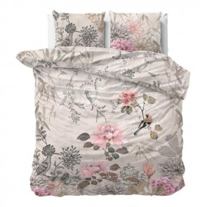 Dreamhouse Dekbedovertrek Forest Charm Taupe