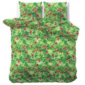 Sleeptime Dekbedovertrek Dreamy Leopard Green