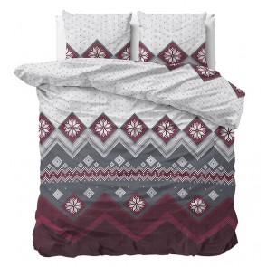 Dreamhouse Flanel Dekbedovertrek Nordic Red