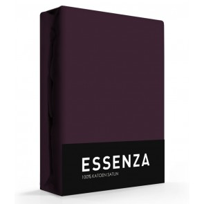 Essenza Hoeslaken Satijn Burgundy