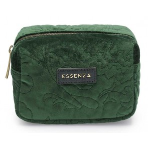 Essenza Lucy Make-up Tas Velvet Green