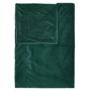 Essenza plaid Furry Pine Green 150 x 200 cm