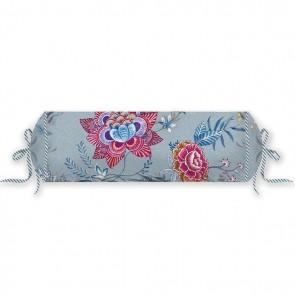 PiP Studio Rolkussen Flower Festival 22x70 cm Blauw