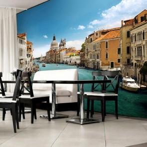 Fotobehang Venetië (366 x 254 cm)