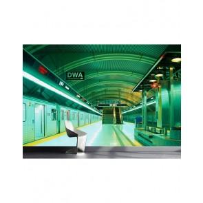 Fotobehang Metro London 232 cm x 315 cm