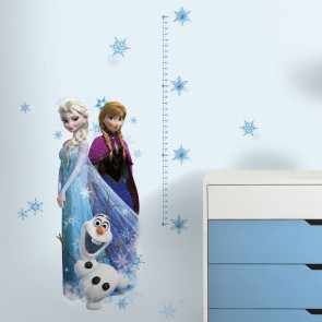 Frozen Muursticker Meetlat (RoomMates)