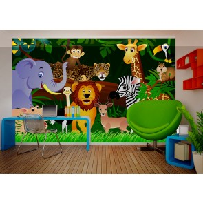 Jungle Fotobehang 4D (AG Design)