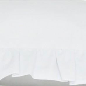 Dolly Gordijnen Set met Ruches Wit