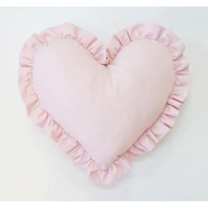 Kussen Hart Dolly Roze Groot