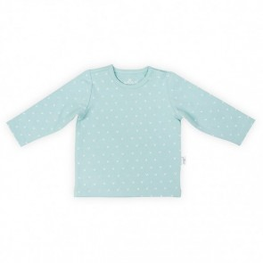 Jollein Shirt Lange Mouw 62/68 Hearts Soft Green