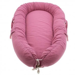 Hi Little One Babynest Dark Pink