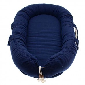 Hi Little One Babynest Navy