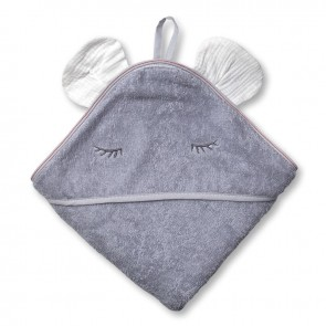 Hi Little One Badcape Mouse Grey